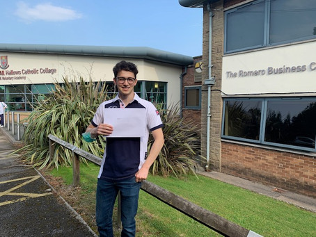 Another Successful Year for Students at All Hallows - A level results