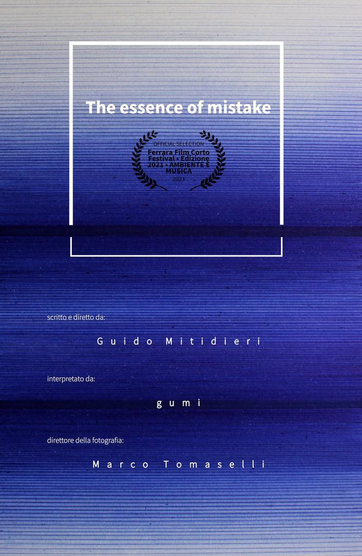 The Essence Of Mistake, 4' ITA