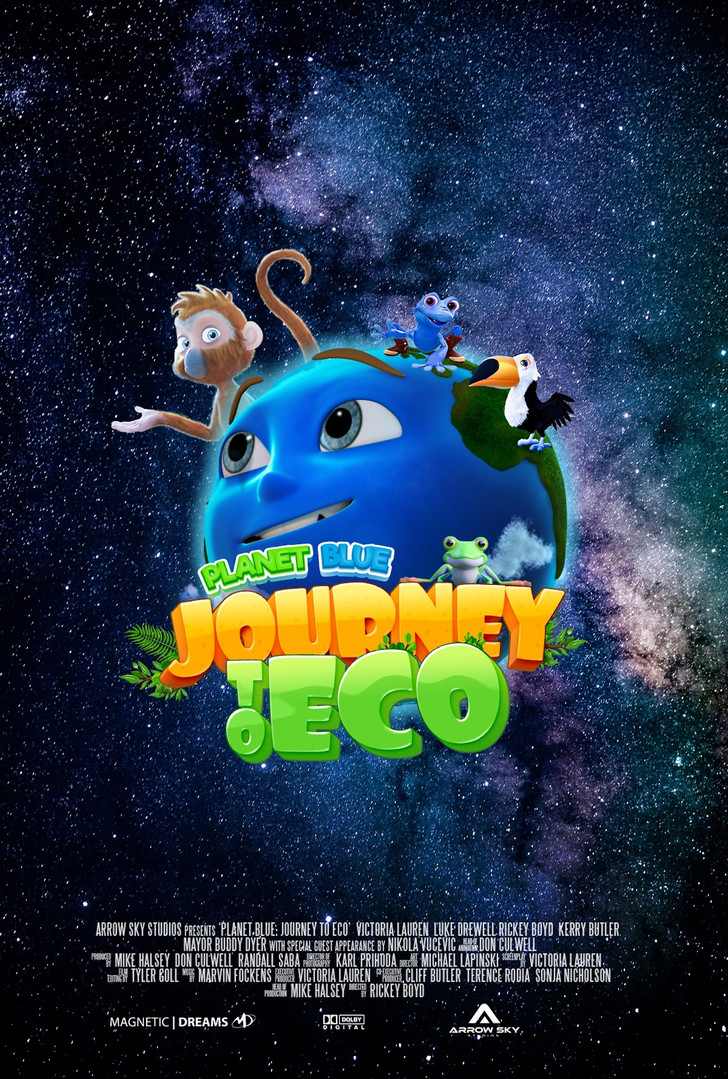Plane Blue Journey to Eco, 6' USA