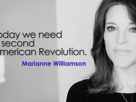 Marianne Williamson Is Still Fighting. You Too?