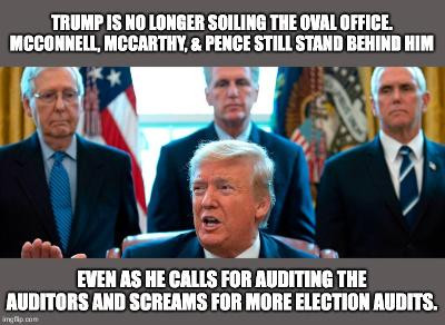 Midnight Meme Of The Day! Trump And 3 Henchmen