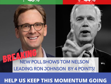 Wisconsin Dems Need A Populist Senate Candidate-- There Is One: Tom Nelson
