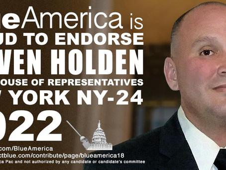 Endorsement Alert: Syracuse, NY-- Steven Holden