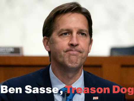 Ben Sasse Rejects De-Baathification Of The Failed Republican Party-- Hopes For The Best...