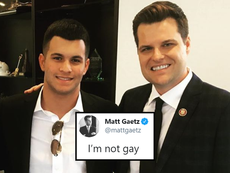 The Gaetz Of Hell-- What Would Freud Say?