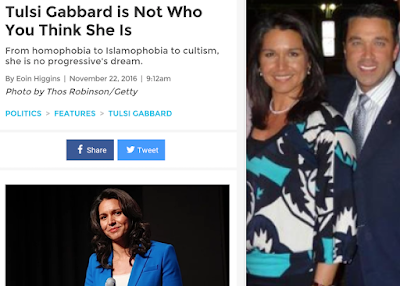 Tulsi Gabbard-- Reverting To Form, As She Prepares To Pack It In