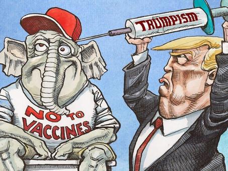 It's Politically Incorrect To Chastise Right-Wing Bio-Terrorists (AKA- Vaccine Refusers)