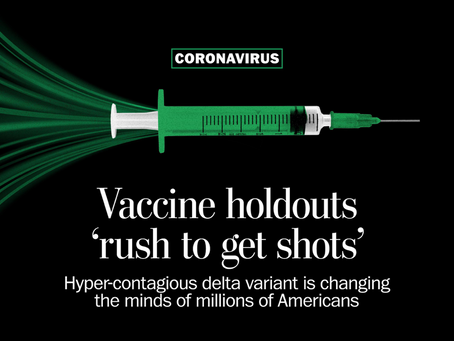 In Most States, Majorities Want Vaccine Mandates-- How About Your State?