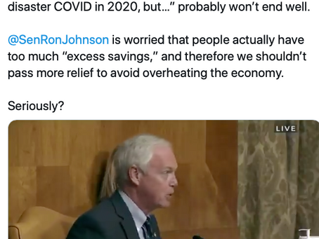Exactly Like Herbert Hoover, Ron Johnson (R-WI) Claims Austerity Will Prevent A Depression