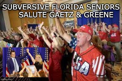 Midnight Meme Of The Day! On The Road With Gaetz & Greene!