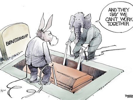 """The Republicans Are Making """"Bipartisanship"""" An Offensive, Word"""