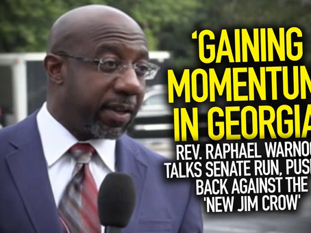 Guest Post From Georgia: The Old Norms Don't Fit  And Raphael Warnock Understands That