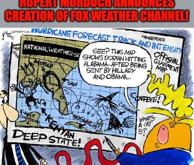 Midnight Meme Of The Day! FAKE Weather From FOX!