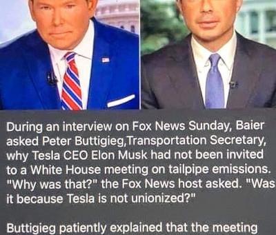 Midnight Meme Of The Day! FOX'S Bret Baier: Lights On. Nobody Home