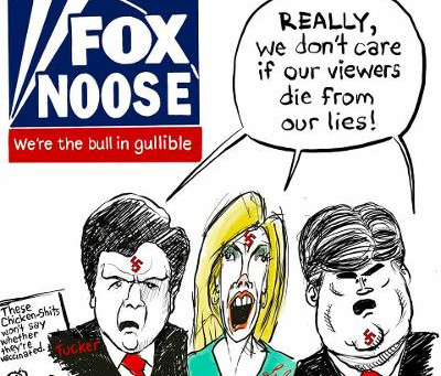 Midnight Meme Of The Day! FOX News: The Bull In Gullible!