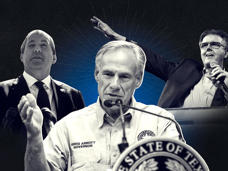 How A Dying, Corrupt Political Party Hopes To Perpetuate Itself In Power-- Texas
