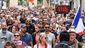 Protests All Over Europe Against Vaccine And Mask Mandates