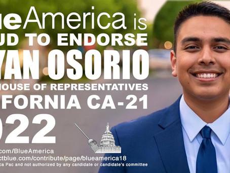 California Endorsement Alert: Delano Mayor Bryan Osorio For Congress