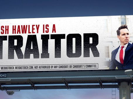 Josh Hawley Is A Traitor-- And So Are The Mercers