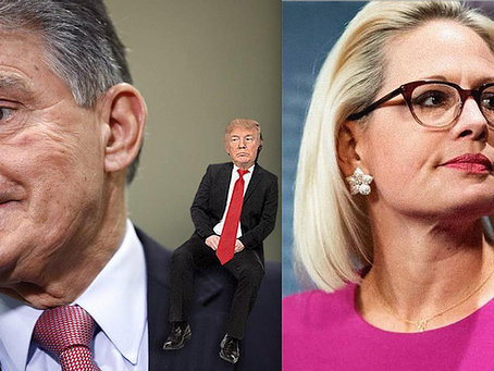 Can Manchin & Sinema Destroy America's Democracy? This Is What Comes Of Voting For The Lesser Evil
