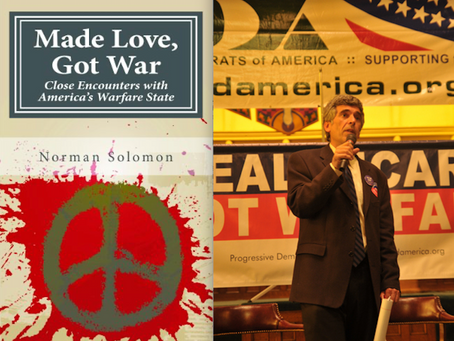 When It Comes To Ending Forever War, America Needs Leaders To Forge The Way-- like Norman Solomon