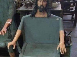 Midnight Meme Of The Day! The Jesus Chair Awaits!