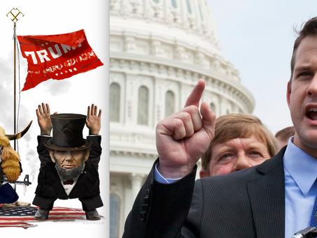 Adam Kinzinger vs Donald Trump