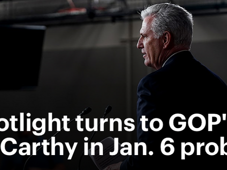 Still Operating In The Shadows, Kevin McCarthy Is A Public Enemy