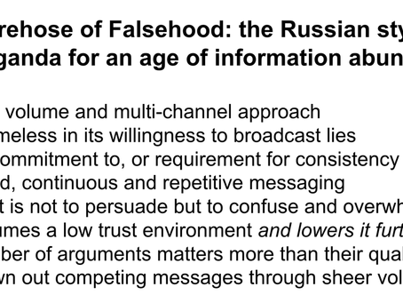 Trump Took Russian-Style Disinformation And Information Warfare & Applied It To American Politics