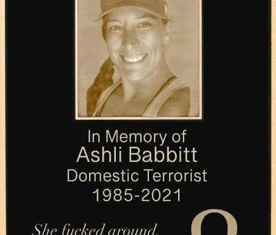 Midnight Meme Of The Day! Ashli Babbitt Was A Traitor