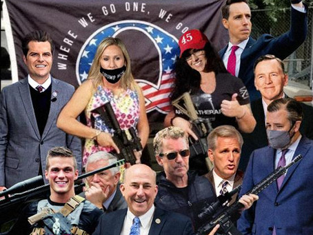 Will Congress' 3 Gs Face Expulsion-- Gosar, Gaetz, Greene? Fascism Never Sleeps