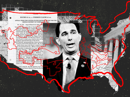 The Racist Part Of Gerrymandering: Packing-- Black Dems No Longer Cooperating