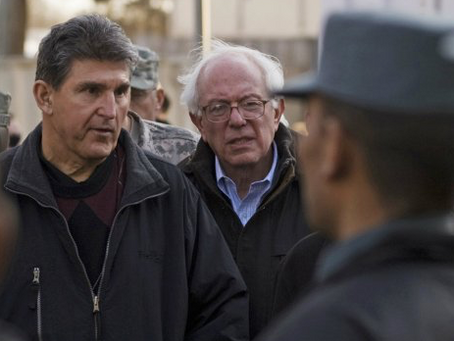 A Bernie Manchin Alliance?