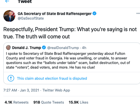 Trump Spoke Yiddish To Raffensperger While Pushing His Sedition In Georgia
