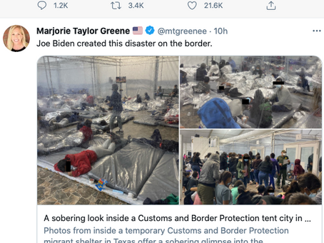 I Understand Why The Right Is Pretending There's A Border Crisis-- But Why The Mainstream Media?