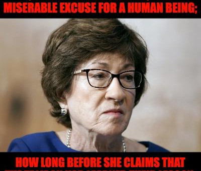 Midnight Meme Of The Day! A Dangerous, Perverse Joke Called Susan Collins
