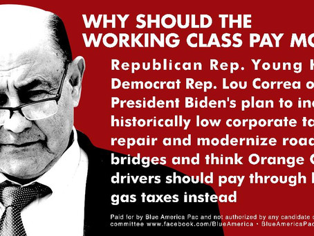 The GOP Wing Of The Democratic Party Wants You To Pay More For Gas To Keep Corporate Taxes Low
