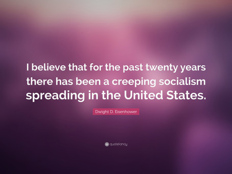 """""""Creeping Socialism"""" Would Be Good For America"""