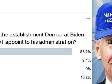 At least Biden's Team Isn't Worse Than Trump's Team