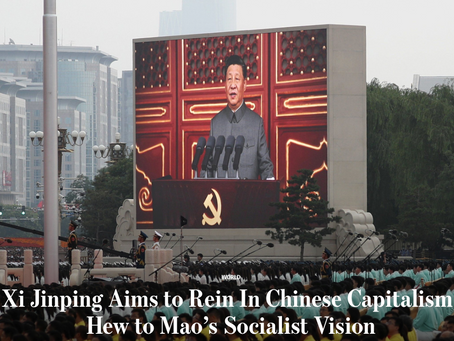 Is China Abandoning Greed-Driven, Unfettered Capitalism?