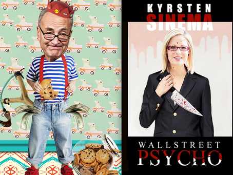 Kyrsten Sinema-- The Most Hated Politician In Arizona-- Keeps Digging The Hole She's In