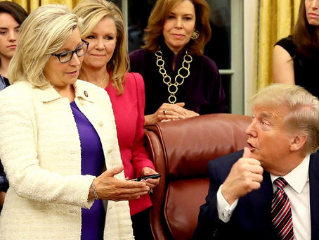 Señor Trumpanzee Is Back To Trying To Cancel Liz Cheney-- Cancelling Wyoming Is A Better Idea