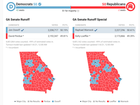 Georgia Comes Back To America-- A Brittle GOP Establishment Continues Fracturing