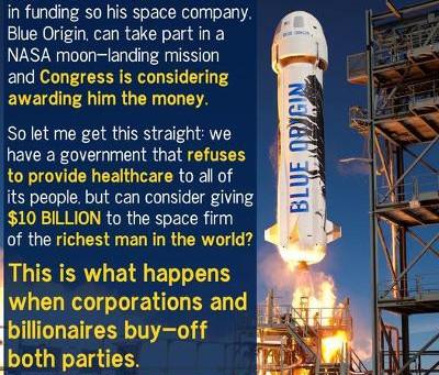 Midnight Meme Of The Day! Jeff Bezos, Shameless Parasite!