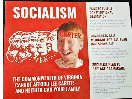 Lee Carter For Governor Of The Commonwealth Of Virginia