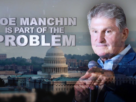 Manchin Lays His Cards On The Table-- There May Be A Way Forward. Today WE HOLD THE LINE
