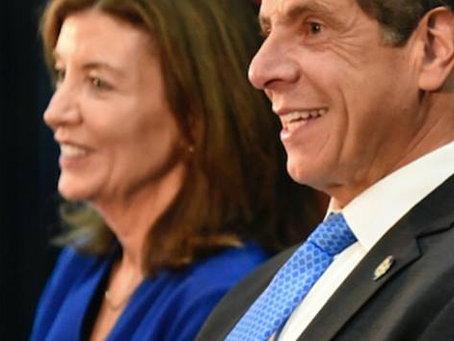 NY Got Rid Of Cuomo-- Politically, Kathy Hochul Is Even Worse