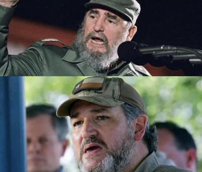 Midnight Meme Of The Day! Cruz & Castro, Separated At Birth?