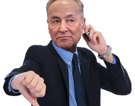 Believe Me, Chuck Schumer Is Not Your Friend (Unless You Wrote Him A Big Check Lately)