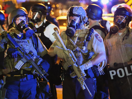 22 Conservative Dems Join The GOP To Make Sure Local Police Can Buy Tanks And Assault Weapons